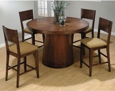 tribeca home counter height dining | modern dining tables Jofran Madelyn Counter Height Table and 4 Chairs ...