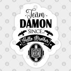 Vampire Diaries Wallpaper, Coffee Ideas, Damon Salvatore, Vampire Diaries The Originals, Ian Somerhalder, Cute Stickers, Bullet Journal, Nail Art, Celebs