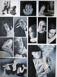 Eilish Marra Hastings Girls' High School Paint Photography, Artistic Photography, Advanced Higher Art, Mental Health Art, Art Alevel, Photography Exhibition, High School Art, High Art, Painting Lessons