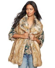 25% off code FRIEND, Denim & Supply Ralph Lauren Faux-Fur Vest