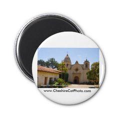 Mission San Carlos Borroméo de Carmelo Fridge Magnets from the Cheshire Cat Photo Store on Zazzle!