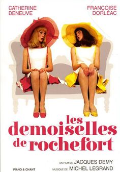 8g. Les Demoiselles de Rochefort de J.Demy avec C.Deneuve, F. Dorléac, J.Perrin, G.Kelly, D. Darrieux