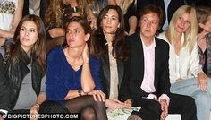 friends of charlotte casiraghi | Front row friends: From left, Daria Zhukova, Charlotte Casiraghi ...