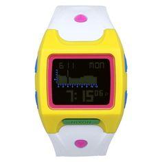 Nixon Men's A530-377 'Lodown' White Watch