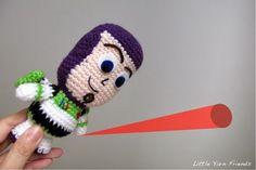 Patrones Amigurumi: Buzz Lightyear