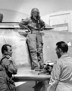 Jacqueline Cochran - first woman to break the sound barrier in 1953