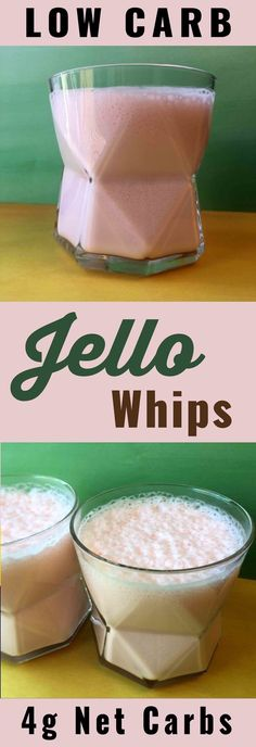 Low Carb Jello Whips from Resolution Eats