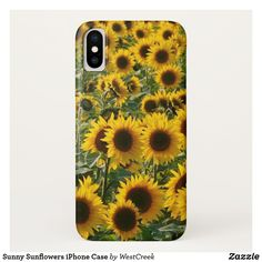 Sunny Sunflowers iPhone Case