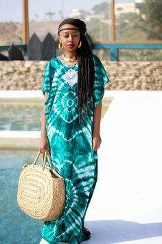 Fatou-blackbeautybag Robe indigo3