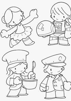 ESPAÇO EDUCAR: 1º de Maio: Dia do Trabalho - 100 desenhos para colorir , texto e sugestões de Atividades!