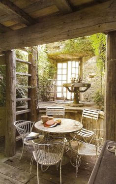 And this is why I need to go to France  Xavier Nicod Antiquities Garden – South of France —studio 'g' garden design and landscape inspiration and ideas Studio G, Garden Design & Landscape Inspiration.