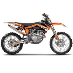 Factory Effex KTM Evo 10 Graphics Kit