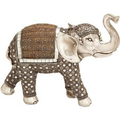 Uma Decorative Elephant Accent (1.765 RUB) ❤ liked on Polyvore featuring home, home decor, elephant home accessories, elephant home decor and inspirational home decor