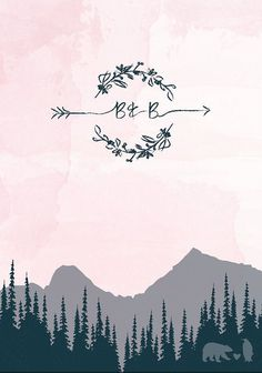 colorado mountain wedding inspiration | mountain wedding invitation | LoveLoveMeDoDesigns | v/ etsy |