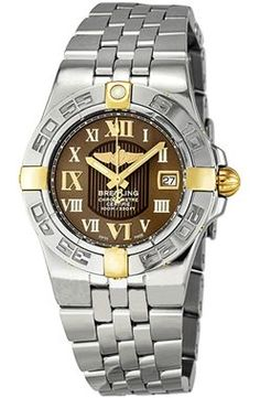 Breitling Galactica 30 Brown Dial Ladies B71340L2-Q562SS