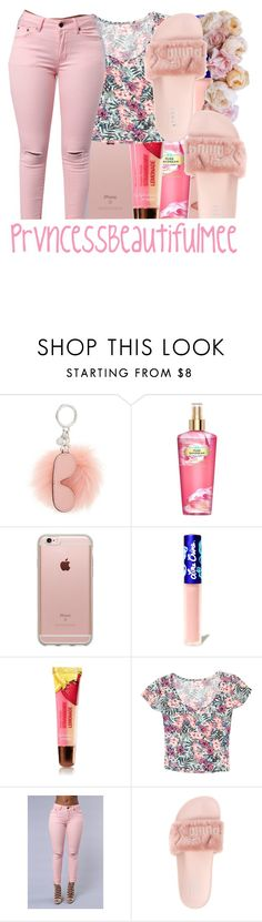 """"" by prvncessbeautifulmee on Polyvore featuring MICHAEL Michael Kors, Victoria's Secret, Incase, Lime Crime, Grayson and Puma"