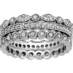 Tiffany style stacking ring Want this, one new each decade, or for each kid.