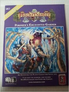 Hackmaster Adventure Porpher's Enchanted Garden