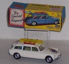 """Corgi Toys Citroen Safari Wagon """"Corgi Ski Club"""""""