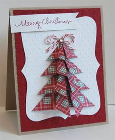 Origami tree by mamamostamps - Cards and Paper Crafts at Splitcoaststampers