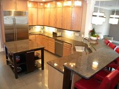 Labrador Antique Granite Kitchen Countertops, Shrewsbury MA