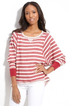 This looks like a comfy fall top. $68. I did see something similar at Forever21 though, of course for less quality.