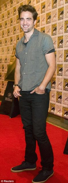 Robert Pattinson at Comic-con San Diego 2012