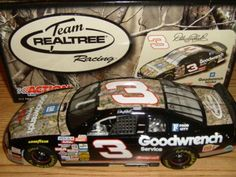 Action Racing Collectibles Dale Earnhardt '09 Team Realtree #3 Monte Carlo, 1:24 by Smith Optics. $64.99. This officially licensed Dale Earnhardt '09 Team REALTREE® #3 Monte Carlo collectible includes more than 100 total parts and pieces. The 1:24-scale car features a die-cast body and chassis, manufacturer-specific engine detail, accurate header contour and simulated exhaust openings. The collectible also includes a car-specific DIN, visible through the back window...