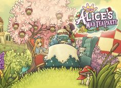 New Alice's Mad Tea Party v1.70 APK MOD Unlimited Money