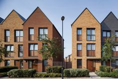 Kidbrooke Village Phase 1 affordable housing, London | Lifschutz Davidson Sandilands