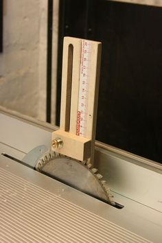 I really need to take time to make one of these. - Height-, length gauge (DIY) - by mafe @ LumberJocks.com ~ woodworking community