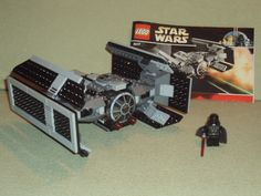 Lego Star Wars Set 8017 DARTH VADER'S TIE FIGHTER From 2009 100% Complete RARE