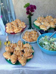 Sanduiches festa Ariel