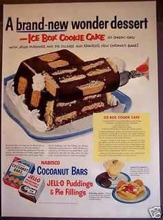How can we get them to buy all our products...? We invent a brand new wonder dessert using our products as the ingredients!