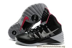 separation shoes 34ccc f6d19 Noir Gris Rose Nike Hyperdunk 2013 Sortie Basketball Shoes For Men, Kobe  Basketball, Lebron