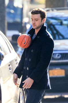 Justin Timberlake's Sad Gravitational Field Attacts A Basketball        i mostly repinned this for the caption...