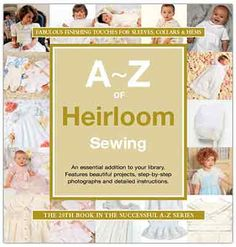 Heirloom Sewing Book Catalog
