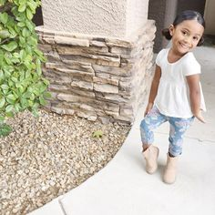 Back to school essentials over here! We decided to go simple yet cute with @childrensplace  We love our #firstdayPlace look! childrensplace.com #ad