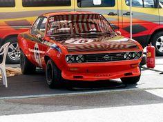 Nice Opel Manta A. Historic race car.