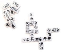Dominoes by David Shrigley.