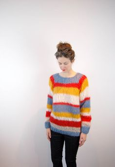 maiami hand knit wool sweater. blk dnm jeans.           maiami hand knit wool sweater. blk dnm jeans.           maiami hand knit...