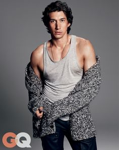 Adam Driver: GQ September 2014 Cover Story