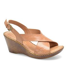 27f23362f4c2 Born Lafontaine Slingback Sandals leather natural