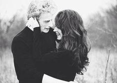 Doctor Who Twelve and Clara whouffaldi