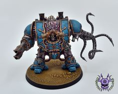 Thousand sons (Tzeentch) - Helbrute #ChaoticColors #commissionpainting #paintingcommission #painting #miniatures #paintingminiatures #wargaming #Miniaturepainting #Tabletopgames #Wargaming #Scalemodel #Miniatures #art #creative #photooftheday #hobby #paintingwarhammer #Warhammerpainting #warhammer #wh #gamesworkshop #gw #Warhammer40k #Warhammer40000 #Wh40k #40K #chaos #warhammerchaos #warhammer40k #tzeentch #thousandsons #Helbrute #Dreadnought Thousand Sons, Warhammer 40000, Tabletop Games, Space Marine, Scale Models, Minis, Miniatures, Creative, Painting