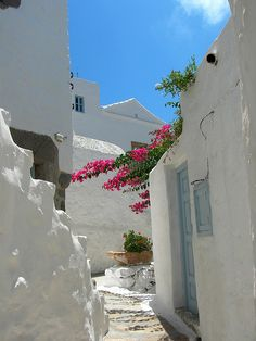 Streets of Patmos | Greece (by gilia80)