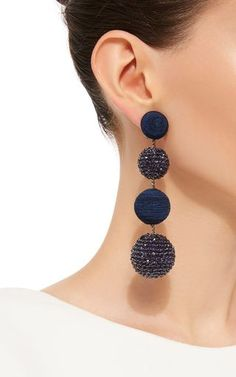 Les Bonbons Eve Earrings by REBECCA DE RAVENEL Now Available on Moda Operandi