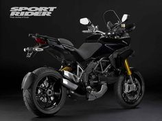 Ducati unveils new 2010 Multistrada 1200 with electronic suspension adjustment | Sport Rider
