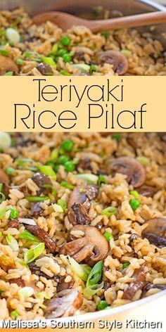 Side Dish Recipes, Veggie Recipes, Vegetarian Recipes, Cooking Recipes, Healthy Recipes, Vegetarian Rice Dishes, Vegeterian Dishes, Rice Recipes Vegan, Vegetarian Casserole