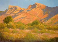 "Where ART Lives Gallery Artists Group Blog: Contemporary Pastel Landscape Painting ""Stillness"" by Colorado Landscape Artist Barbara Churchley"